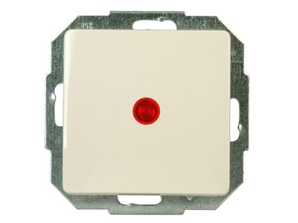 Kontrollschalter (A/W) beleuchtet Serie Paris creme-weiß - Kopp (651673080)