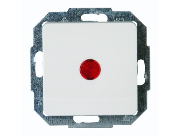 Kotrollschalter (Aus- und Wechselschalter) weiß / Serie Milano - Kopp (619671088)