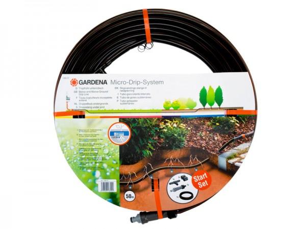 Gardena Micro-Drip-System Tropfrohr unterirdisch mit Armatur 13,7 mm, 50 m (1389-20)