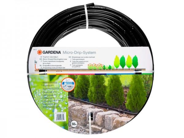 Gardena Micro-Drip-System Tropfrohr oberirdisch 13 mm, 50 m (1386-20)