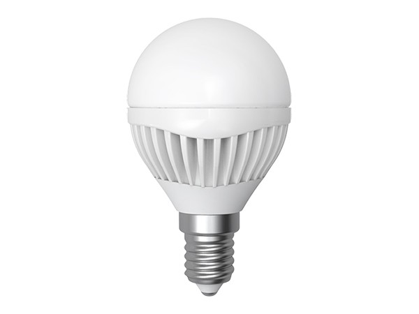 LED-Lampe E14 Kugel 6W 3000K warm weiß (LL-HB1406C)