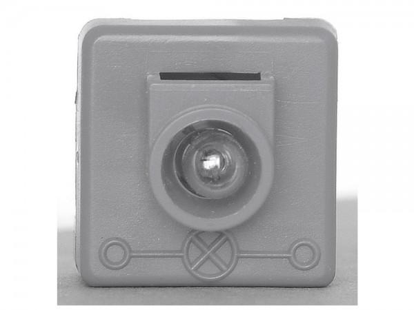 KOPP Kontrollschalter AP arktis-weiss Aufputz Schalter Kontroll Aus und Wechsel