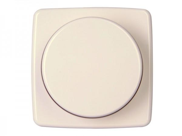 Dimmerabdeckung für Druck-Wechseldimmer Serie Rivo rein-weiß Kopp (335217184)