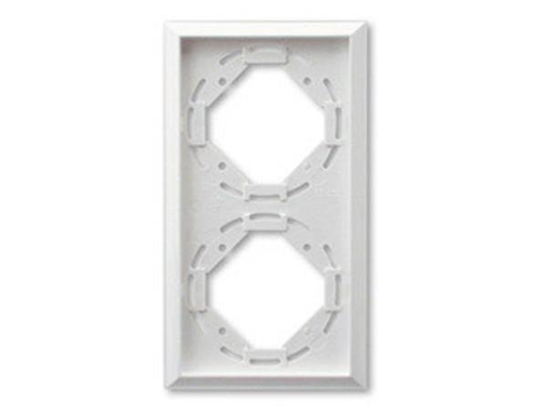REV Ritter Düwi TerraLuxe 2-fach Rahmen, weiß (01273)