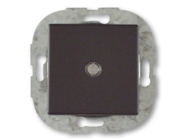 REV Ritter Düwi Trend Kontroll-Wechselschalter mit Glimmlampe, coolgray (41193)