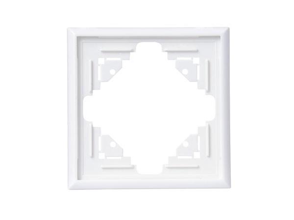 Abdeckrahmen 1-fach arktis-weiß Serie Malta - Kopp (309113063)