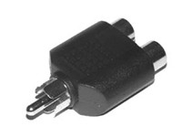 Audio-Adapter, Cinch Stecker/Cinch Kupplung (aad1009)