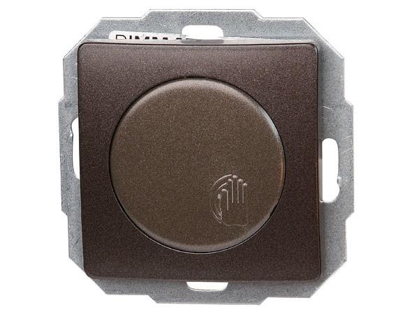 Sensor-Dimmer DIMMAT Phasenanschnitt Serie Paris palisander-braun - Kopp (803626081)