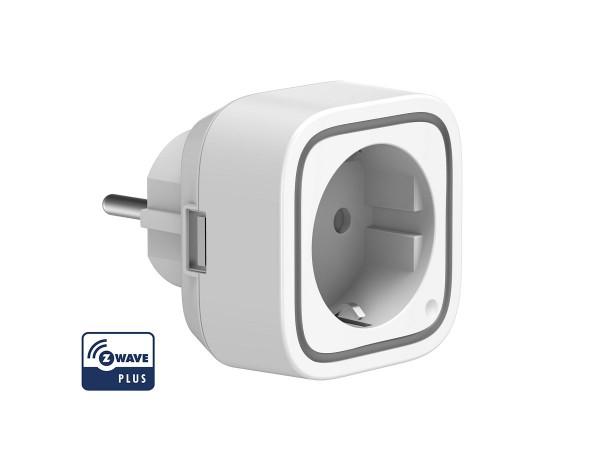 Z-Wave AEOTEC Zwischenstecker Smart Dimmer 6 mit Energiemessfunktion und LED Indikator (AEOEZW099-EU