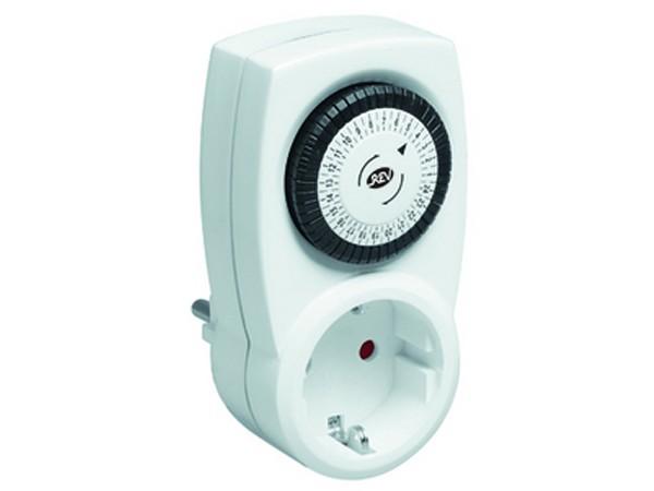 Zeitschaltuhr mechanisch weiß - REV-Ritter (0025200103)