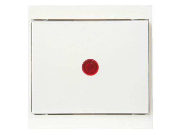 Kontrollschalter (A/W) beleuchtet weiß Serie Malta - Kopp (621667086)