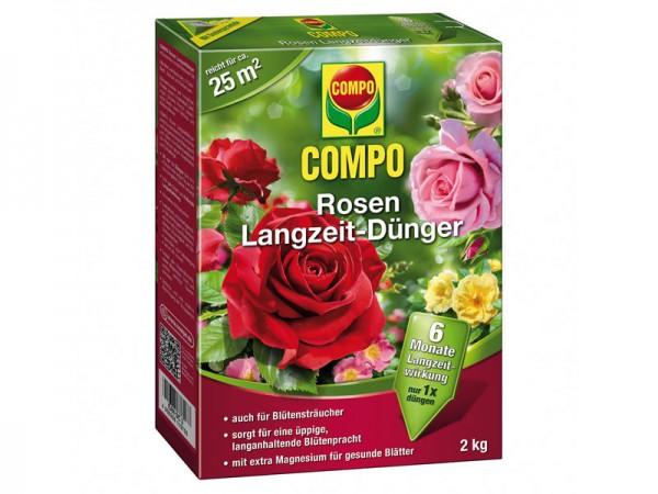 Compo Rosen Langzeit-Dünger 2 kg (21575)