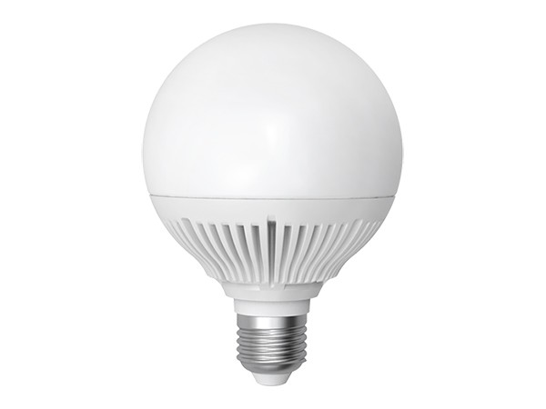 LED-Lampe E27 Kugel 15W 3000K warm weiß (LL-GN2715c)