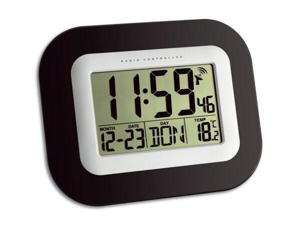 TFA 60.4503 Digitale Funk-Wanduhr mit Temperaturanzeige