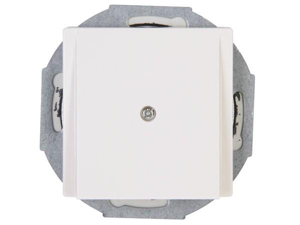 Blindabdeckung mit Leitungsauslass Objekt HK 07 rein-weiß Kopp (492229006)